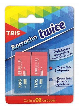 BORRACHA TWICE C/2 UN. TRIS 686981