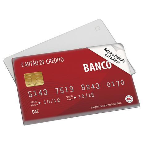 PROTETOR DE ACRILICO PARA CARTAO DE BANCO 55X88MM DAC 1539/1580