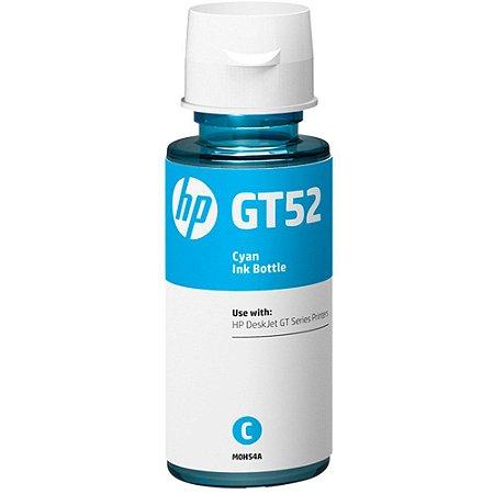 REFIL DE TINTA HP GT52 CIANO ORIGINAL M0H54AL
