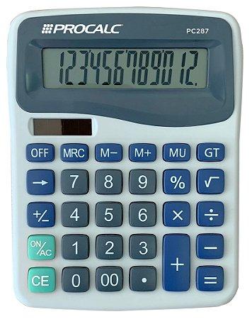 CALCULADORA DE MESA 12 DÍGITOS PROCALC PC287