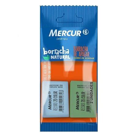 BORRACHA COLOR RECORD 20 (AZUL/VERDE) MERCUR B01010301094