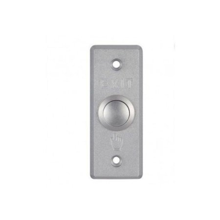 Botao de Saida Aluminio Hikvision DS-K7P02