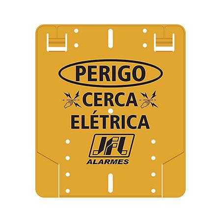 Placa de Advertencia Cerca Eletrica JFL