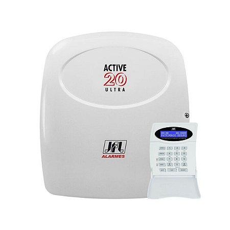 Central de Alarme JFL Monitoravel Active 20 Ultra V4