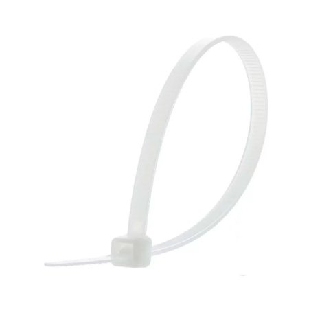 Abracadeira Fasgold Nylon 3,5x150mm Branca 100 und - FS-426