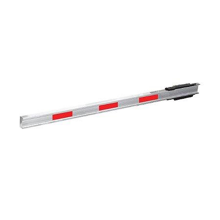 Barreira Retangular PPA LED Aluminio Natural 6030 Brasso/K1 3,5m - F60020003
