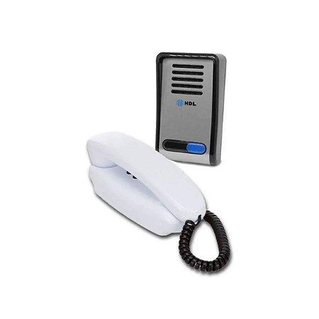 Porteiro Eletronico HDL F8 SNTL c/ Interfone - AZ02 Branco