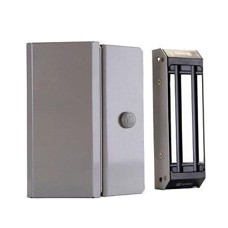 Fechadura Magnetica Ipec M80 c/ Sensor Cinza - A2351/CZ