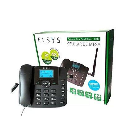 Celular de Mesa Elsys Dual SIM - EPFS12