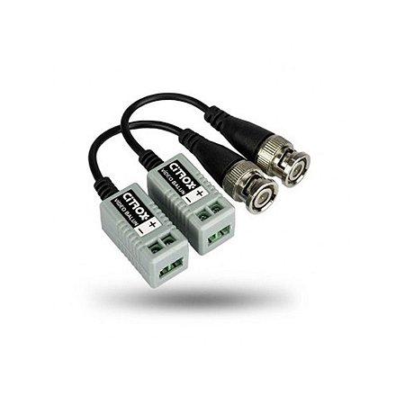 Video Balun Citrox 4x1 300/ 200 Cx-4612