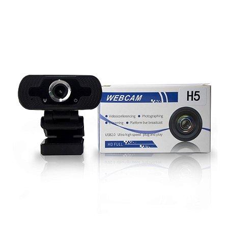 Webcam HB Tech 2 MP 1080p Full HD c/ Microfone