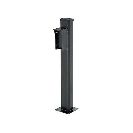 Totem Pedestal p/ Sensor 0,8m Preto