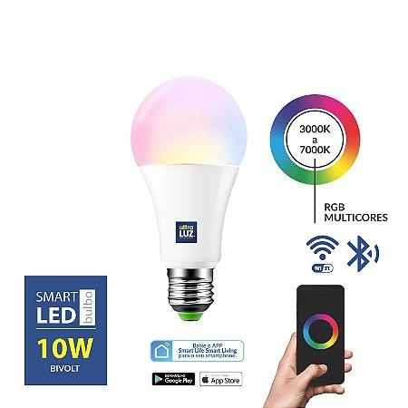 Smart - Bulbo 10 W RGB