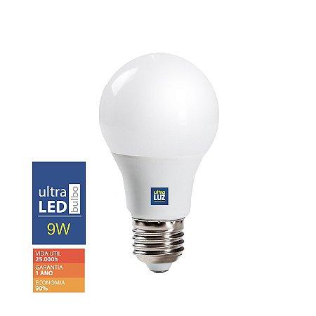 LED 9W 3000K Amarela