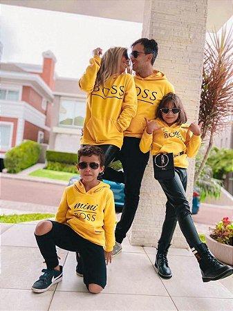 Moletom Boss Amarelo - INFANTIL