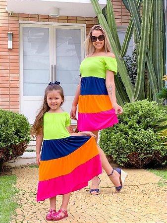 Vestido Luana Color Block INFANTIL