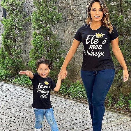 T-shirt Eu sou o Príncipe dela - INFANTIL
