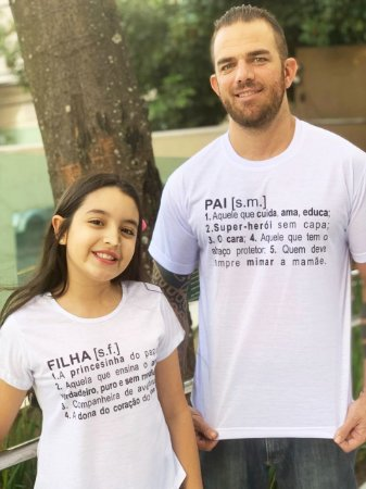 Camiseta FILHA significado - INFANTIL