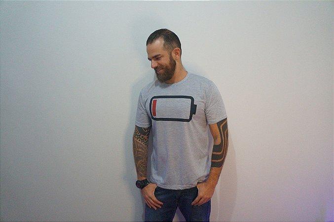 Camiseta Bateria Fraca - ADULTO