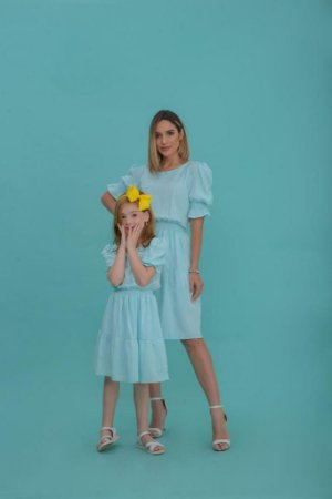 Vestido Camila azul - ADULTO