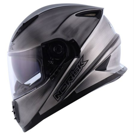 Capacete Norisk FF302 Soul Iron Chrome