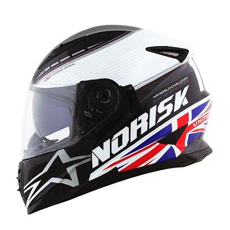 Capacete Norisk FF302 Soul Grand Prix Reino Unido