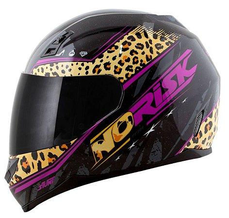 Capacete Norisk FF391 Stunt Beauty Jaguar