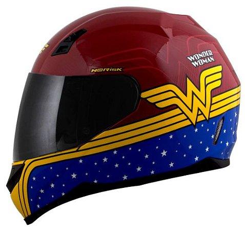 Capacete Norisk FF391 Stunt Wonder Woman