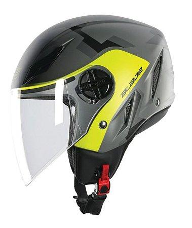 Capacete AGV Blade Camodaz Cinza/Amarelo