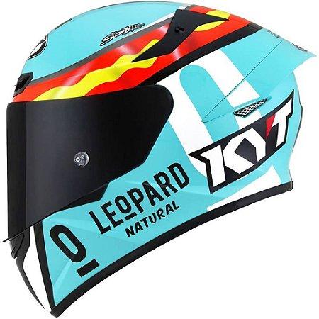 Capacete KYT TT Course Jaume Masia Leopard Spain