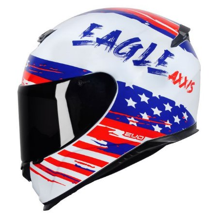 Capacete Axxis Eagle Independence Branco