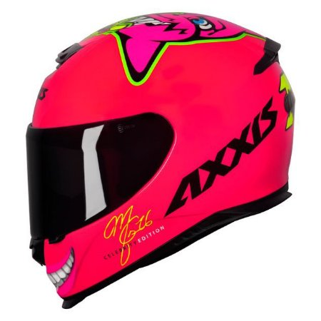 Capacete Axxis Eagle MG16 Marianny Rosa/Rosa
