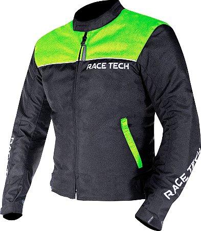 Jaqueta Race Tech Fast Masculino Verde