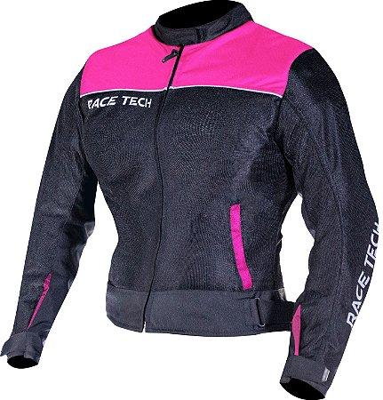 Jaqueta Race Tech Fast Air Feminino Rosa