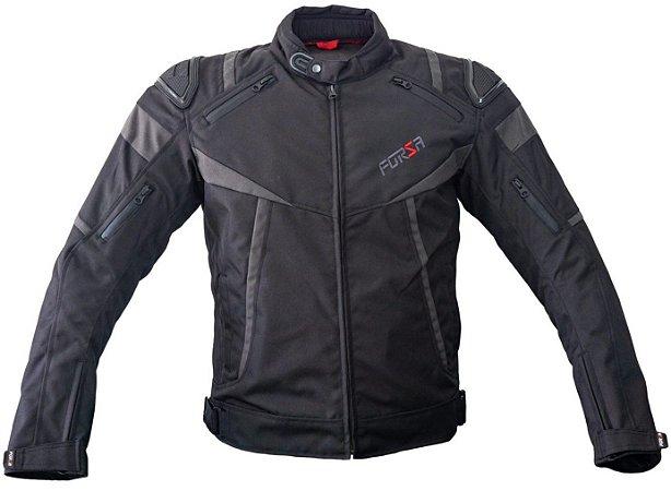 Jaqueta Forza Textile Mugello Racing Preto