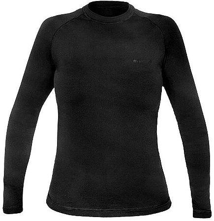 Segunda Pele Curtlo Camiseta Thermosense Feminino Preto