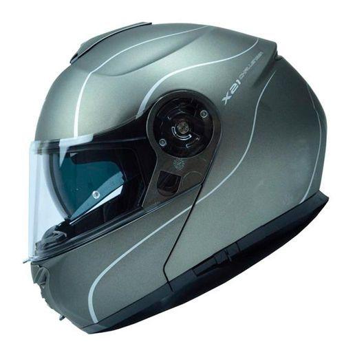Capacete GIVI X21 Graphic Titanium Fosco