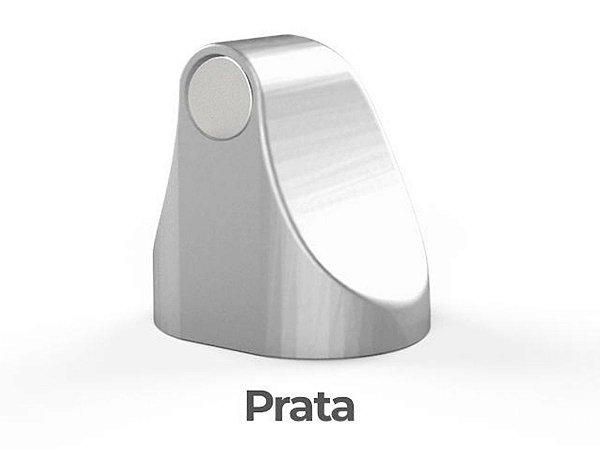 Trava Porta Magnético ComfortDoor Imã Adesivo 3M Prata