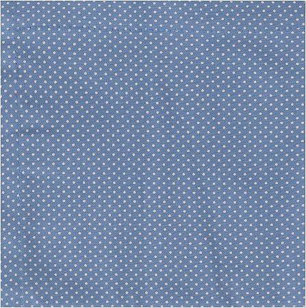 Guardanapo ecológico reutilizável 100% algodão - azul