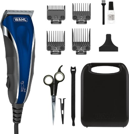Maquina Wahl Pro-Grip Pet Grooming Clipper Kit - Low Noise C