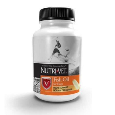 Omega 3 Nutri Vet Para Caes - 100 Capsulas Softgel