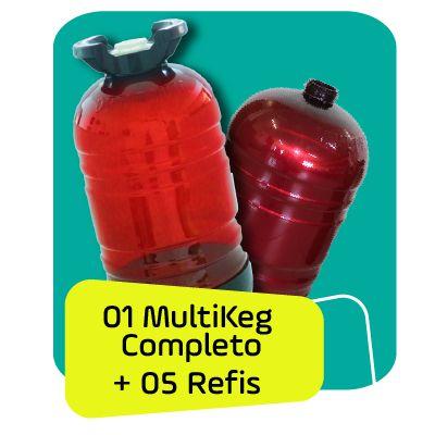 Kit ECO 06 Unidades Multkeg 30L