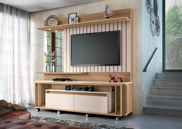 Home Theater Eclipse - Freijó / Off white