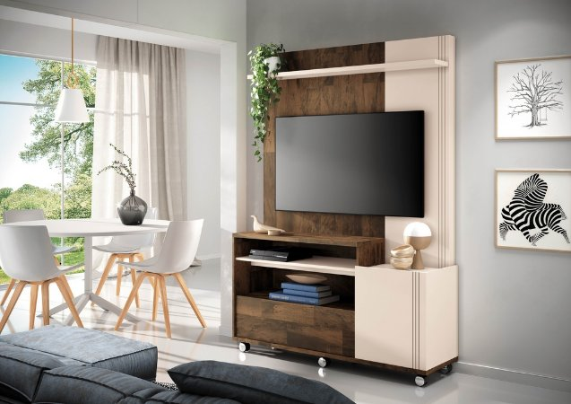 Home Theater Timber -Deck / Off white