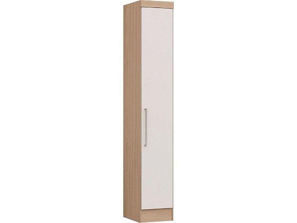 Módulo 1 Porta Infinity 3810A Nogueira / Branco