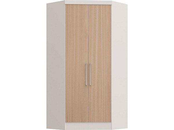 Módulo Closet Infinty 3806A - Branco / Nogueira