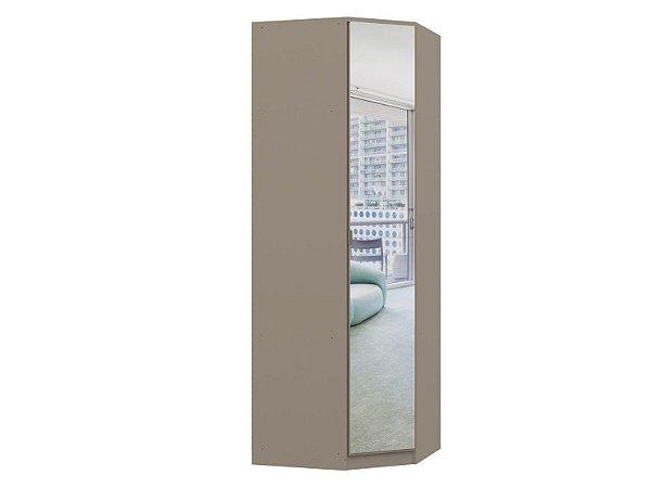 Módulo Canto Oblíquo Elegance 4205A - Níquel com espelho