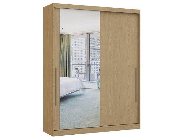 Guarda Roupa 2 Portas de Correr Premium Elegance 4222A - Angelin com espelho