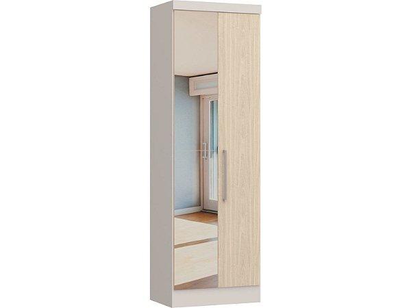 Módulo 2 Portas Infinity 3820A - Branco / Nudi com espelho