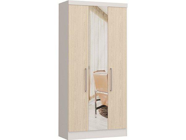 Módulo 3 Portas Infinity 3830A - Branco / Nudi  com espelho